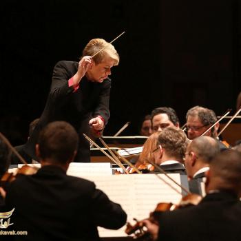 مرین اولساپ رهبر ارکستر سرشناس آمریکایی