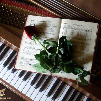 کلاویه های پیانو